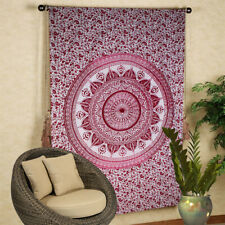 Ombre Cotton Wall Hanging Mandala Large Tapestry Bohemian  Room Decor Bedspread