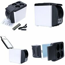 Car Small Refrigerator 12v Compact Mini Fridge Cooler Warmer - 6L Fridge NEW
