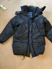 Peak Performance Goose Down ,Hooded  Men Winter Jacket Coat Size S Genuine