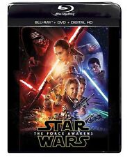 Star Wars: The Force Awakens Blu-ray/DVD, 2016, Includes Digital Copy