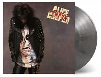 ALICE COOPER TRASH ltd silver & black marbled vinyl lp MOVLP1862