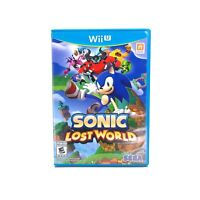 Sonic Lost World (Nintendo Wii U) CIB Complete w/ Manual Tested & Working