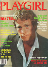 PLAYGIRL April 1984 FARRAH FAWCETT Ryan O'Neal BLONDS Richard Alan ROBIN THICKE