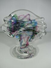 More details for isle of wight hand made art glass tree paperweight unusual collectable