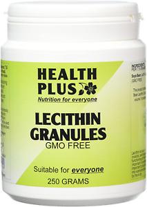 Health Plus Lecithin Granules Memory Plant Supplement - 250g