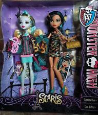 Monster High Scaris  Lagoona Blue und Cleo de Nile Y7296 Sammlerstück selten NEU