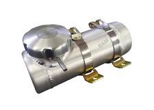 3x10 End Fill Spun Aluminum Gas Tank - w/Vent tube - Kart Racing - Mini bike 1/4