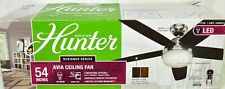 """Hunter 54"""" Ceiling Fan with Reversible Blades model #59234 NEW O/B"""