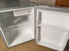 Matsui Compact Refrigerator In Silver, Complete, Original Accessories - Ex Cond