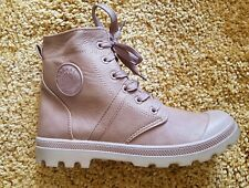 LADIES LIGHT BROWN CASUAL LACE UP BOOTS SIZE 7