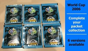 Panini 2006 World Cup - sealed packets - choose a version