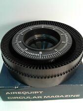 Airequipt circular magazine holds 100 slides w/ original box
