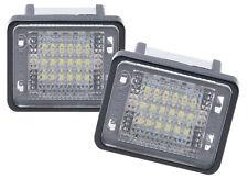 2X KENNZEICHENBELEUCHTUNG MERCEDES BENZ GLK X204 LED SMD XENON WEIß 6000k A586