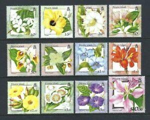 Pitcairn 2000, Flowers of the Pitcairn Islands sg564/75 MNH