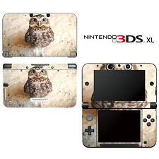 Vinyl Skin Decal Cover for Nintendo 3DS XL LL - Hello! Baby Owl