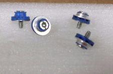 LOT OF 4  HP Blue Hard Drive Mounting Screws lite