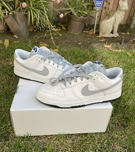nike dunk low id by you Grey And White Size 10
