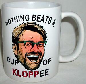 Funny Liverpool Jurgen Klopp  Coffee Tea Mug Anfield Football Fathers Day Gift