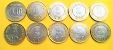 Republic India-Rs 10 commemorative coins- Rare collection of 10 coins set-