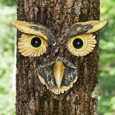 Owl Tree Face Tree Hugger Hanging Garden Sculpture Statue