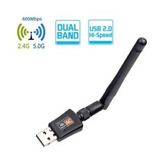 Dual Band 5/2.4GHz WIFI USB Network Adapter +Antenna Wireless 802.11b/g/n/ac