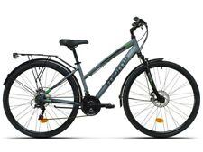 """Bicicleta Trekking 28"""" aluminio Shimano 21v con frenos de disco"""