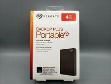 Seagate Backup Plus Portable 4TB External Hard Drive HHD Storage Black