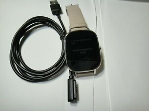 ASUS ZenWatch 2 Wi502q 37 mm Silver Stainless Steel Case