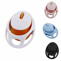 2.4GHZ RECHARGEABLE WIRELESS CUTE EGG SHAPE HOLLOW MOUSE COMPUTER ACCESSORY GIFT