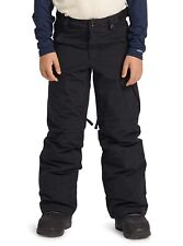 Burton Exile Snowboard Cargo Pant - Youth Boys - Small, True Black