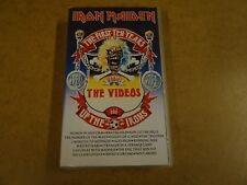 VHS VIDEO CASSETTE / IRON MAIDEN - THE FIRST TEN YEARS - THE VIDEOS