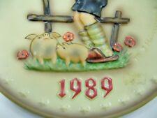 Hummel - Wandteller - Jahresteller - von 1989 - Ø ca. 19 cm  (11)
