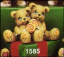 Clay Magic Candy Cuddle Bears * Ceramic Bisque Ready to Paint