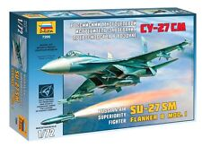 ZVEZDA 7295 RUSSIAN AIR SUPERIORITY FIGHTER SU-27SM  FLANKER B MOD.1 1/72