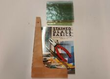 Stained Glass Tools - Glass Cutting Tools, Book & Glass