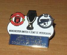 Manchester Un vs Zenit St Petersburg Pin spilla UEFA Super CUP