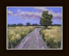 Big Norfolk Sky 3 Original Pintura al óleo impresionista a bordo: Shaun Viney
