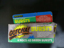 Gotcha Bursts Paintball Discs Green 6 Discs 42 Bursts 1 Box Entertech