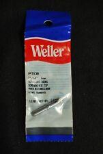"""Weller PTE8 15/64"""" x 6mm Screwdriver Soldering Tip Lot of 3"""