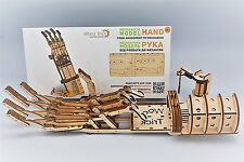 Construct your own Mechanical Hand - WOODTRICK 3D Mechanical Wooden Model