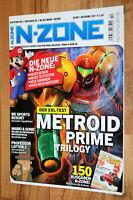 Nintendo N-Zone Magazin 10/2009 Metroid Prime Trilogy Professor Layton Planet 51