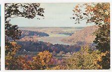 Usa, View from Bowmans Hill, Washington Crossing Park Penn. Postcard, A808
