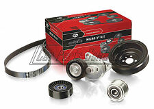 FOR ALFA ROMEO 147 1.9 JTD JTDM 8V 16V GATES DRIVE FAN BELT TENSIONER IDLER KIT
