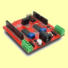 Dual Stepper Motor Driver Shield for Arduino - great for CNC or Robot projects