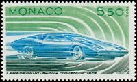 "MONACO N° 1028 ""AUTOMOBILE, LAMBORGHINI 1974, 5 F 50 ""NEUF xxTTB"