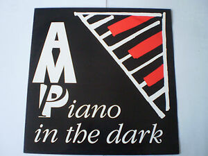 """A.M.P.(ALAN MATTHEWS PROJECT) 12""""45 """"PIANO IN THE DARK/FASCINATION"""" - 1991 - UK"""