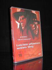 DVD LEICHEN PFLASTERN SEINEN WEG - FSK 18 - ITALO-WESTERN mit KLAUS KINSKI * NEU