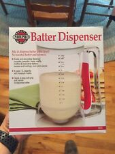 Norpro Batter Dispenser 4 Cup Mix and Pour Cupcake Pancake Waffles #1013