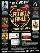 2016 SELECT AFL FUTURE FORCE COMMON CARDS PICK YOUR CARD