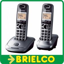 TELEFONOS INALAMBRICOS DUO PANASONIC KX-TG2512 GRIS RECARGABLES DIGITAL BD5221